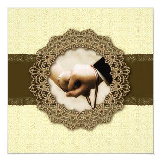 Handfasting 13 Cm X 13 Cm Square Invitation Card