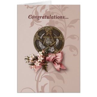 Handfasting Congratulations Greeting Card