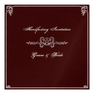 Handfasting Invitation