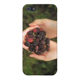 Handful of Mulberry Berries Fresh and Sweet iPhone 5 Case