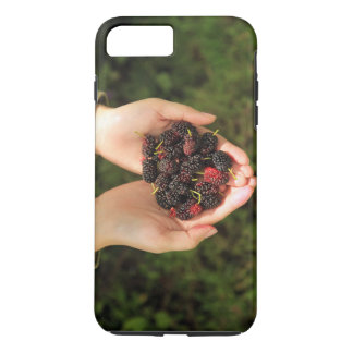 Handful of Mulberry Berries Fresh and Sweet iPhone 7 Plus Case