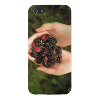 Handful of Mulberry Berries Fresh and Sweet iPhone 5/5S Cases