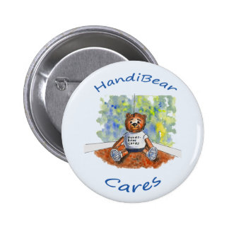Handi-Bear Cares Button for Children