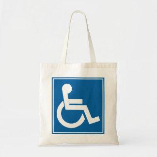 Handicap Sign Bag
