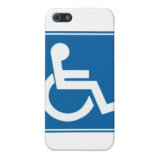 Handicap Sign iPhone 5 Covers