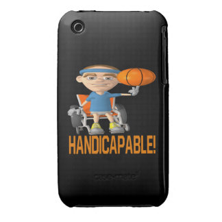 Handicapable iPhone 3 Case-Mate Cases