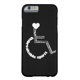 HandiCAPABLE phone case Barely There iPhone 6 Case