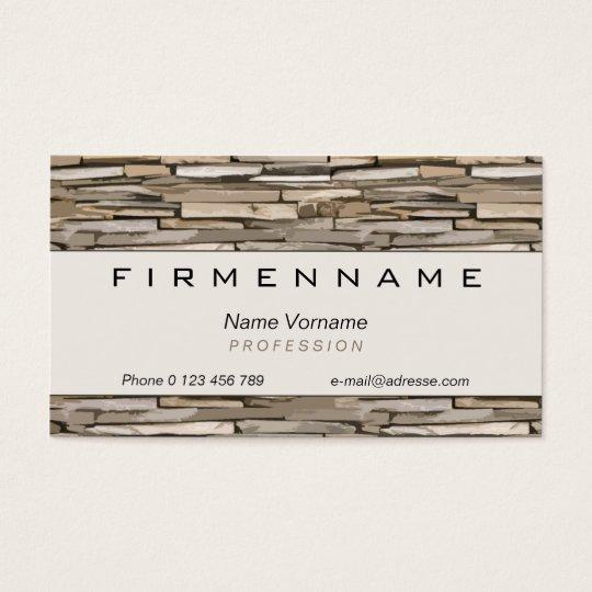 handicraft business card