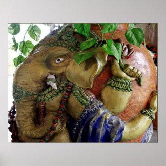Handicraft - Ganapati Elephant at AWGP Gayatri Poster