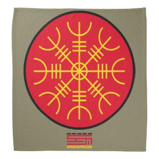 Handkerchief Aegishjalmur OHOHUIHCAN Kerchiefs
