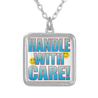 Handle Care Life B Silver Plated Necklace