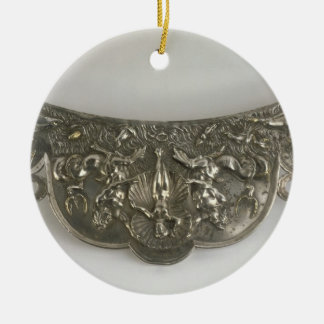 Handle of a Plate Showing The Birth of Venus Gall Christmas Tree Ornament