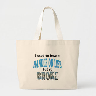 Handle on Life Jumbo Tote Bag
