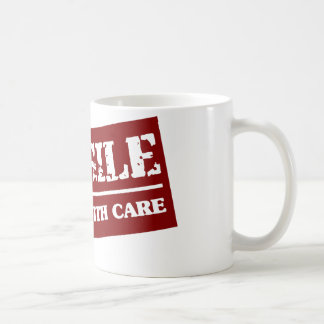 Handle with care coffee mug