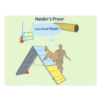 Handler s Prayer Touch Post Cards
