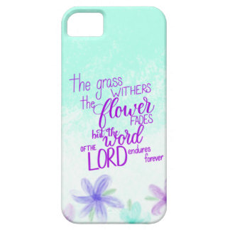 Handlettered Bible Verse iPhone Case, Scripture Barely There iPhone 5 Case