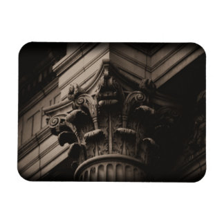Handley Library Column Rectangular Photo Magnet