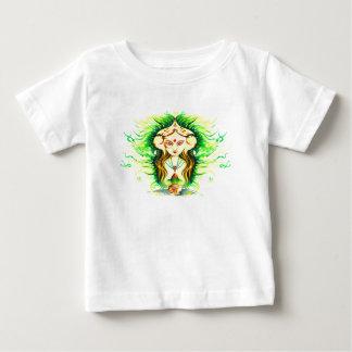 Handmade Abstract Painting of Lakshmi Durga Baby T-Shirt