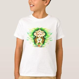 Handmade Abstract Painting of Lakshmi Durga T-Shirt
