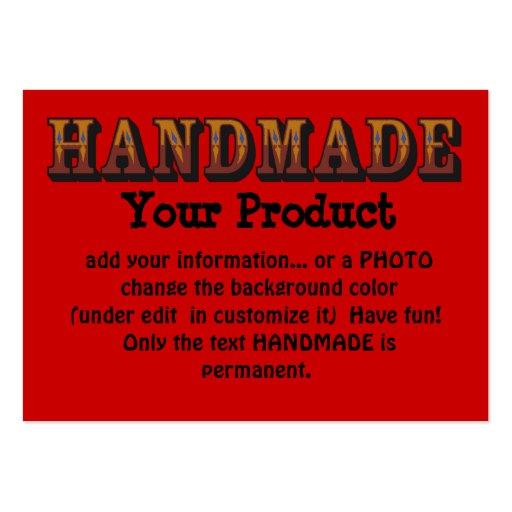 Handmade Business Card Templates