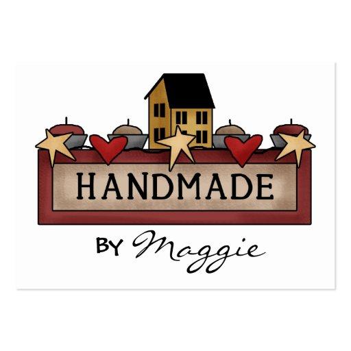 """Handmade By"" Card - SRF Business Card"