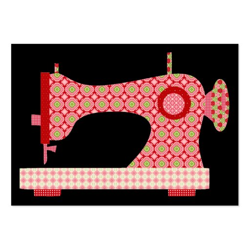"""""""Handmade By"""" Sewing / Seamstress / Craft - SRF Business Cards"""
