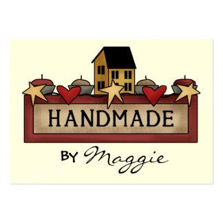 Handmade by SRF Business Card Template