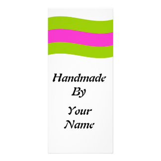 Handmade  by Template Rack Cards