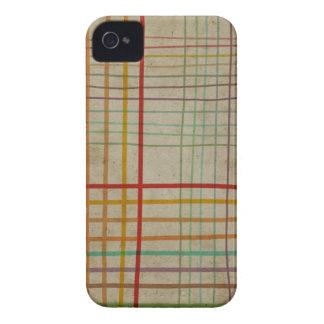 Handmade Check Pattern Case