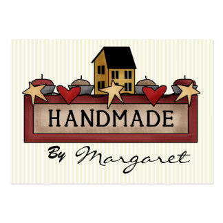 Handmade / Crafts / Knitting / Sewing Business Cards