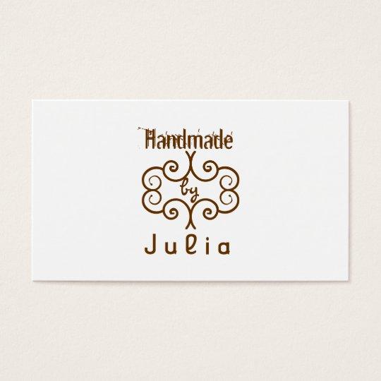 Handmade crafty Business card