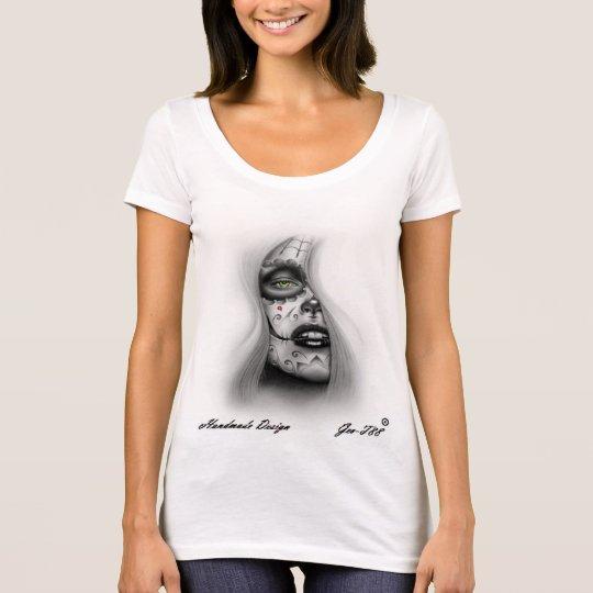Handmade Design Art Tattoo T-Shirt
