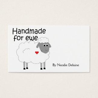 Handmade for Ewe hangtag/ flat giftcard
