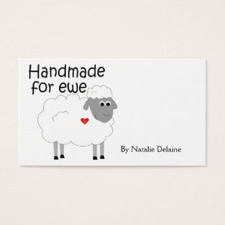 Handmade for Ewe hangtag/ flat giftcard Business Card