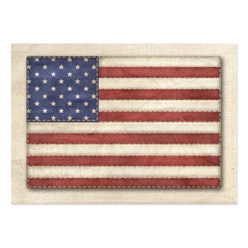 """Handmade in America"" - SRF Business Card"