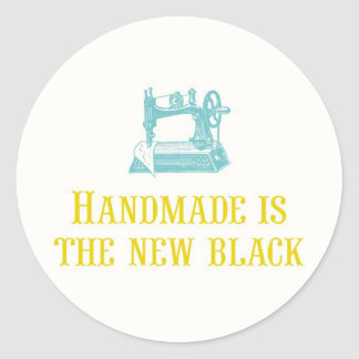 Handmade is the New Black Stickers