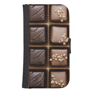 Handmade luxury chocolate in a box samsung s4 wallet case