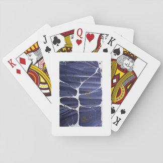 Handmade Marbled Abstract Playing Cards