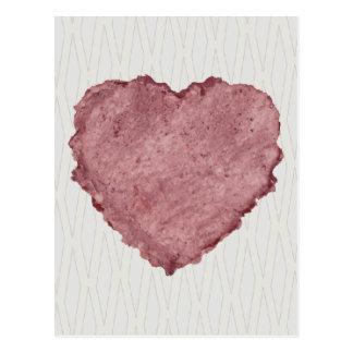 Handmade Paper Heart 009 Postcard