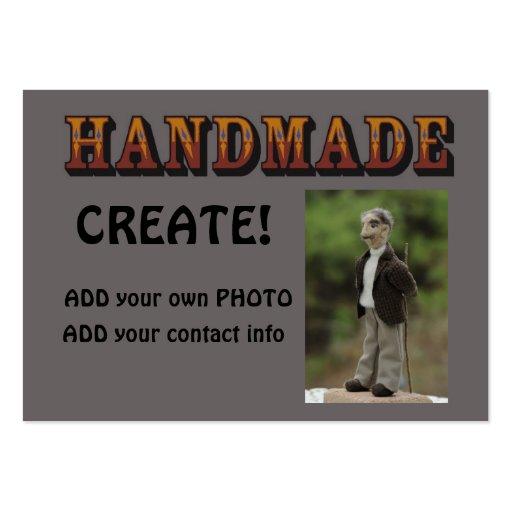 handmade - ready to customize 3 business card