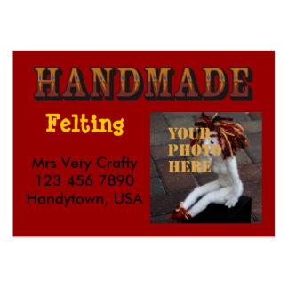 handmade - ready to customize business card