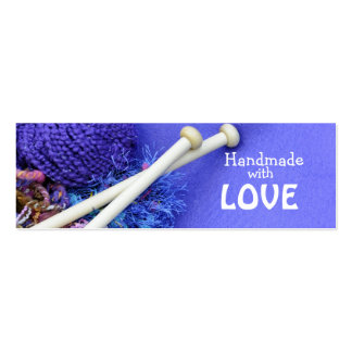 Handmade with love business cards