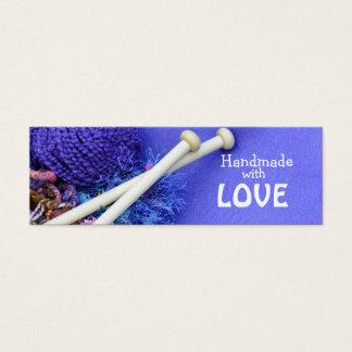 Handmade with love mini business card