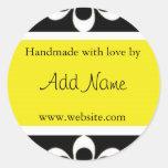 """Handmade with Love"" Sticker"
