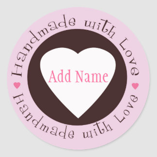 Handmade with Love Sticker