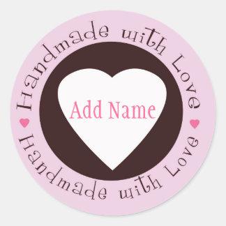 Handmade with Love Sticker