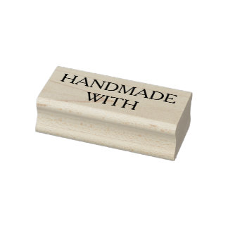 Handmade with rubber stamp, cardmaking, scrapbook rubber stamp
