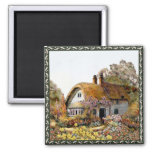 Handpainted Country Cottage Magnets