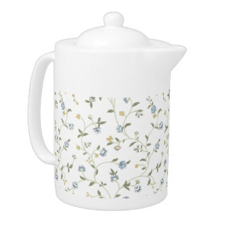 Handpainted Floral Tea Pot