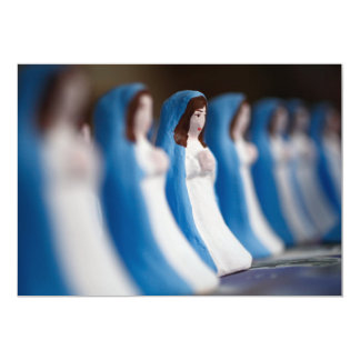 Handpainted Virgin Mary figurines Announcements